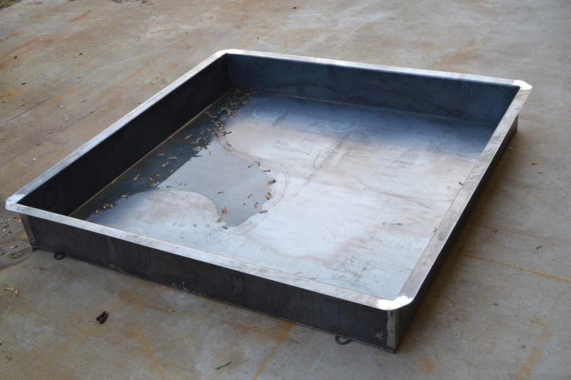 Spejlbassin stål – Rengøring værelser